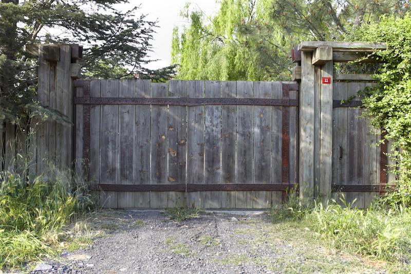 Ahşap Bahçe Kapıları